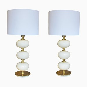 Tischlampen von HENRIK BLOMQVIST für Tranås Stilarmatur, 1960er, 2er Set