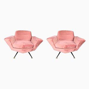 Italienische Modell M538 Sessel von Studio APA für Lenzi, 1960er, 2er Set