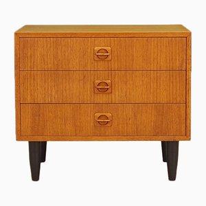 Danish Teak Veneer Dresser, 1960s