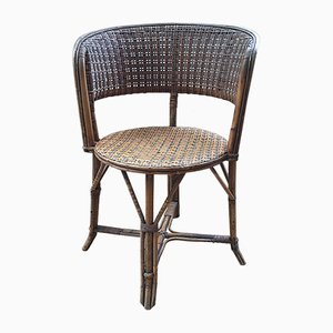 Antique Wicker Garden Chair
