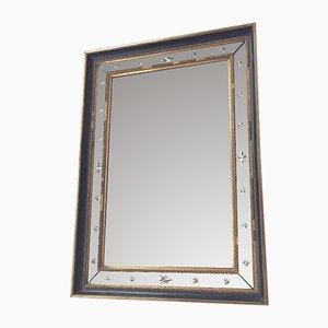 Spiegel mit Rahmen mit gemeißelten Dekorsternen, 1960er