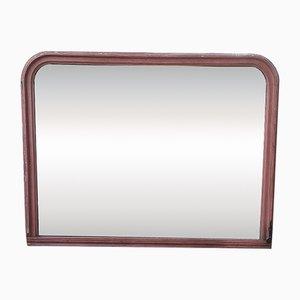 Specchio grande antico in legno