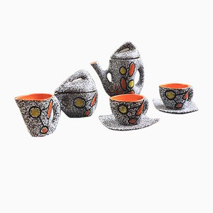 Coffee Set from Vallauris, 1960s