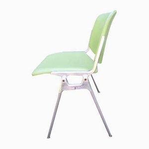 Modell DSC000 Schreibtischstühle von Giancarlo Piretti für Castelli / Anonima Castelli, 1960er, 4er Set