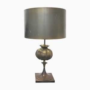 Bronze Table Lamp by Maison Charles, 1970s