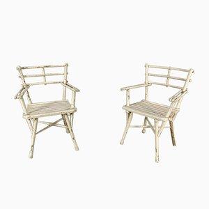 Vintage Nr. 14104 Gartenstühle von Michael Thonet für Thonet, 2er Set