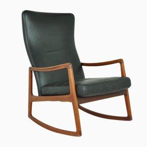 Rocking Chair Modèle FD160 par Ole Wanscher pour France & Søn / France & Daverkosen, 1950s