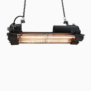 Vintage Industrial Ceiling Lamp from Daeyang, 1970s