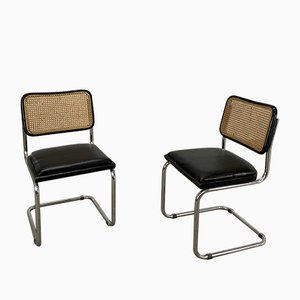 Vintage No. B32 Desk Chairs by Marcel Breuer for Thonet, Set of 2