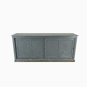 Antique Gray Sideboard