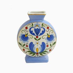 Mid-Century Porcelain Flower Vase from lubiana