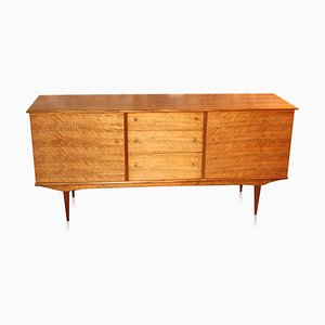 Vintage Walnut Sideboard by Alfred Cox for Heals, 1960s