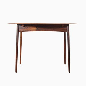 Scandinavian Extendable Rosewood Dining Table, 1960s