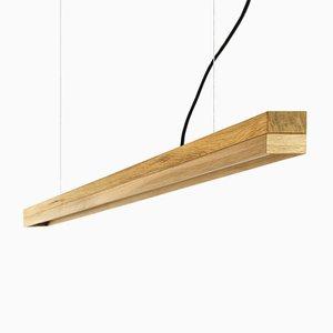 Lampada [C3o] in quercia di GANTlights