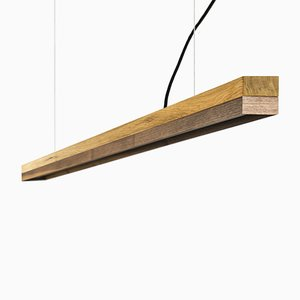 [C3o]Oak Wood & Walnut Pendant Light from GANTlights