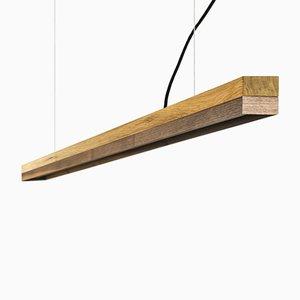 Lampada [C3o] in quercia e legno di noce di GANTlights