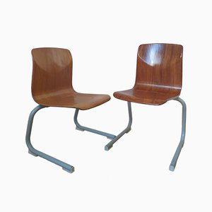 Childrens Chairs by Elmar Flötotto for Pagholz Flötotto, 1980s, Set of 2