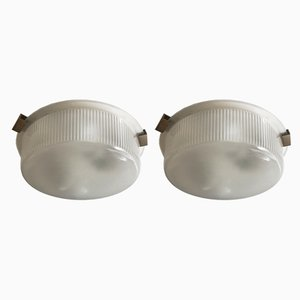 Mid-Century Italian Sconces by Ignazio Gardella for Azucena, Set of 2
