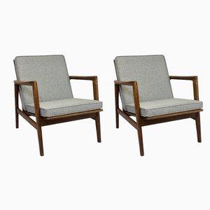 Lounge Chairs by Stefan Swarzędzkie from Gościcińskie Fabryki Mebli, 1960s, Set of 2