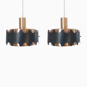 Lampes à Suspension, 1970s, Set de 2