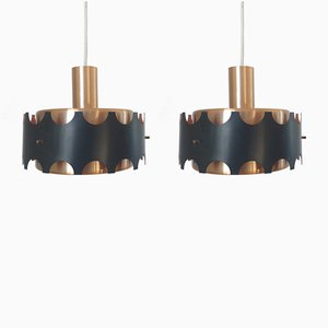 Pendant Lamps, 1970s, Set of 2