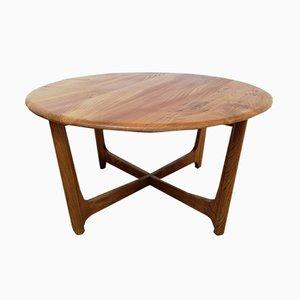 Tavolino da caffè in olmo di Luciano Ercoloni per Ercol, 1972
