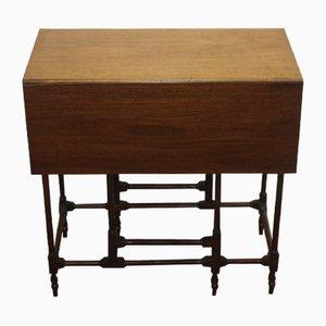 Tavolino Sutherland antico in mogano