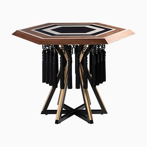 Hexagon Table by Estemporaneo