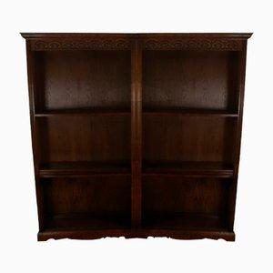 Vintage Oak Shelves, 1960s, Set of 2