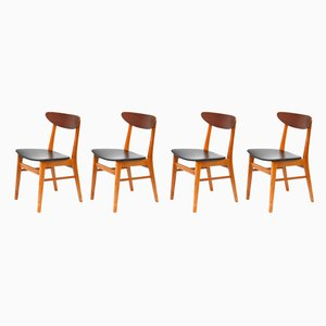 Teak Dining Chairs from Farstrup Møbler, 1960s, Set of 4