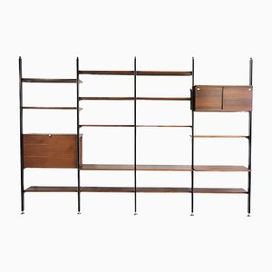 CSS Rosewood Shelf by George Nelson for Mobilier International, 1960s