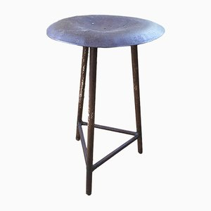 Metal Tripod Stool, 1940s