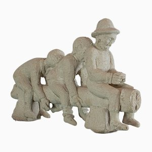 Vintage Skulptur von Dominic Hurley