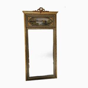 Antique Full-Length Gilt Trumeau Mirror