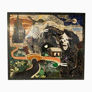 Vintage Bildkunst aus Marmor, Mosaik & Stein von Dominic Hurley
