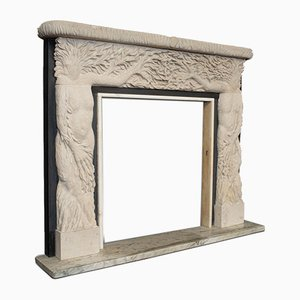 Vintage Decorative Fireplace Surround