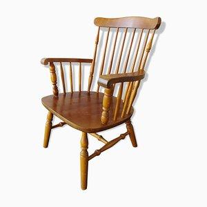 Vintage Armlehnstuhl aus Holz, 1970er