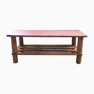Table Basse Mid-Century en Pin