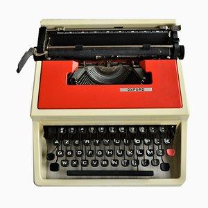 Rote tragbare Schreibmaschine von Olivetti, 1970er