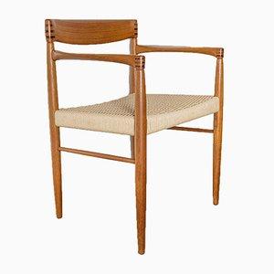 Dänischer Armlehnstuhl aus Teak von H.W. Klein für Bramin, 1960er