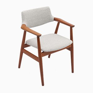Dänische Esszimmerstühle von Svend Åge Eriksen für Glostrup, 1960er, 2er Set