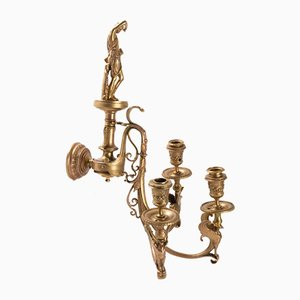 Antique Bronze Sconces from Barbedienne, Set of 2