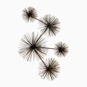 Pom Pom Wall Sculpture by Jerry Fels, Curtis Freiler for Artisan House, 1979