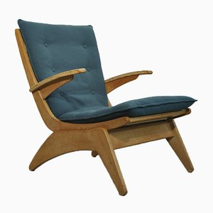 Oak Armchair by Jan Den Drijver for De Ster Gelderland, 1950s