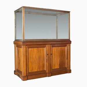 Antique Walnut & Bronze Cabinet