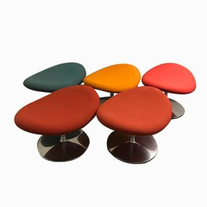 Series 5 Globe Stools by Pierre Paulin for Artifort, 1960s, Set of 5