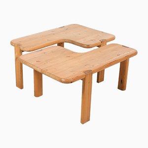 Tables Basses Vintage par Aksel Kjersgaard pour Odder Møbler, Set de 2