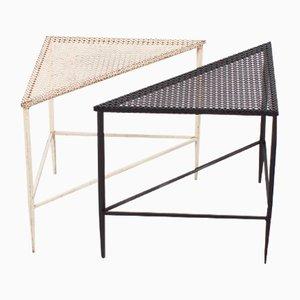 Side Tables by Mathieu Matégot for Artimeta, 1950s, Set of 2