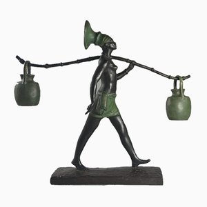 Art Deco Bronze Sculpture by Fanny Rozet, 1920s