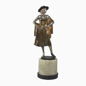 Art Déco Skulptur von Bruno Zach, 1930er